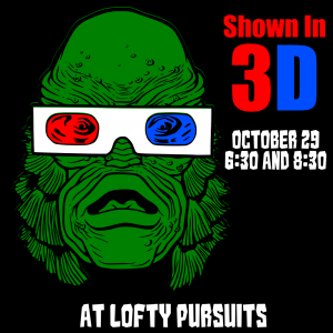 Creature from the Black Lagoon in 3d and costume c...