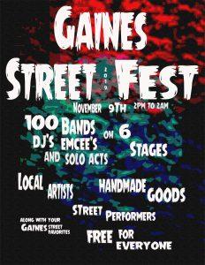 Gaines Street Fest 2019