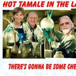 Hot Tamale with Jim Crozier in the Lab