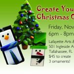 Fun with Fused Glass: Christmas Ornaments - Tallahassee