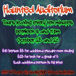 Haunted Auditorium