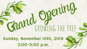 Grand Opening; Growing the Tree