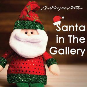 Santa Visits The Gallery