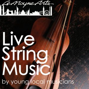 Live String Music by Young Local Musicians