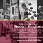 College of Fine Arts Student Showcase