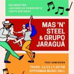 World Music Ensembles – Brazilian Ensemble and Mas 'n' Steel