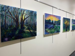 Scenes from the 850: Paintings of Matt Miller