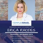A Night of Comedy with Erica Rhodes