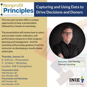 Nonprofit Principles | Capturing and Using Data to...
