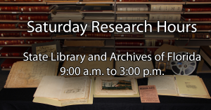 Saturday Research Hours