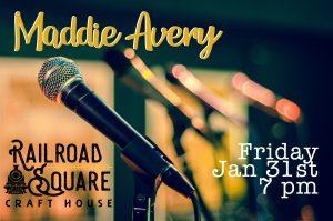 Live Music: Maddie Avery