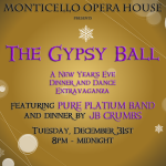 The Gypsy Ball: New Year's Eve 2020 at the Monticello Opera House