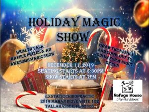 ExStatic Chiropractic Holiday Magic Show