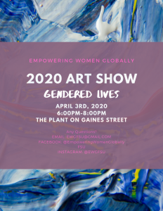 Submissions Needed for Art Show