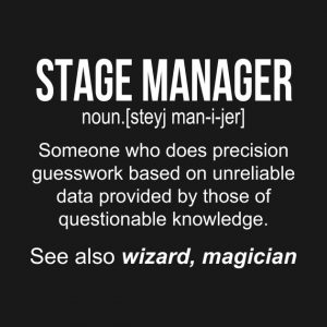 """Stage Manager for Mini """"Midsummer Night's Dream"""" T..."""
