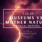 Museums vs. Mother Nature