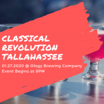 Kicking Off the Semester with Classical Revolution