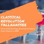February Classical Revolution at Ology Brewing