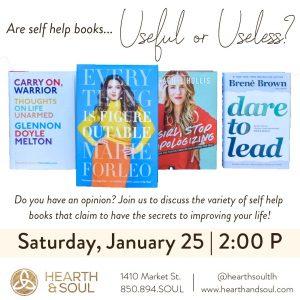 Self Help Book Discussion – Hearth & Soul
