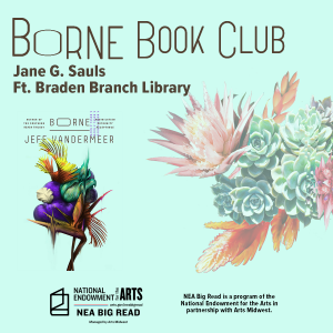 CANCELLED - Borne Book Club at the Jane G. Sauls Ft. Braden Branch Library