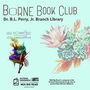 CANCELLED - Borne Book Club at the Dr. B.L. Perry, Jr. Branch Library