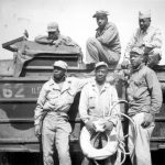 Iwo Jima Battle and African-American Soldier Exhibit