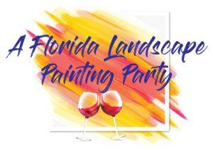 Florida Landscape Painting Party