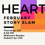 Midtown Reader Story Slam: Heartbeat