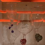 Make a Wine Glass - with a Valentine Heart or Spiral Stem