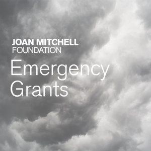 2020 Joan Mitchell Foundation Emergency Grants