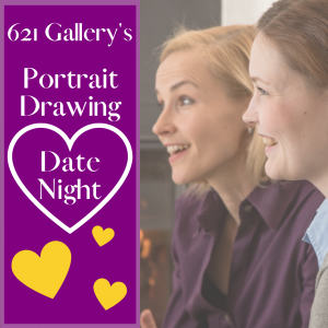 Portrait Drawing Date Night