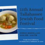 11th Annual Tallahassee Jewish Food Festival