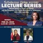 Tallahassee Living History Lecture Series