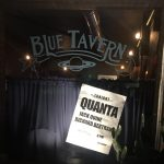Quanta at Blue Tavern with special guest René Arbogast