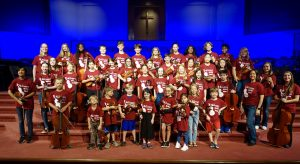 Intermediate String Orchestra Camp at TRAA