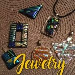 Fused glass class - Artist's Choice - Jewelry or Suncatchers