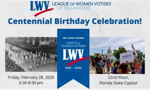 LWVT Centennial Birthday Celebration