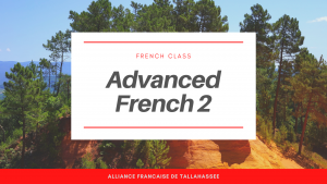 Online French class : Advanced 2