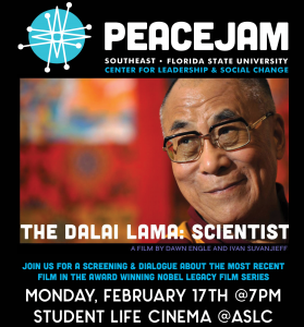Dalai Lama--Scientist Film Screening