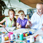 Family Art + Design Lab: Portrait Painting Challenge