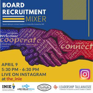 Virtual Board Recruitment Mixer - April 9