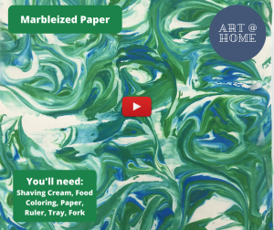Art at Home: Marbleized Paper