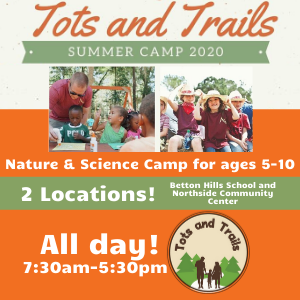 Tots and Trails Summer Camp