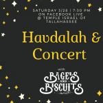 Havdalah & Concert - Online