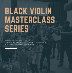 Black Violin Masterclass