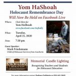 Holocaust Remembrance Day - Online