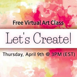 Let's Create: Virtual Art Class