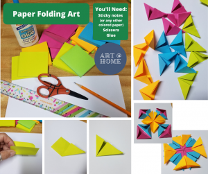 Art at Home: Paper Folding