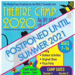 POSTPONED to Summer 2021:  Mickee Faust Theatre Summer Camp - Write, Perform & Produce!