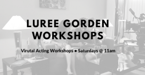 Virtual Acting Workshop